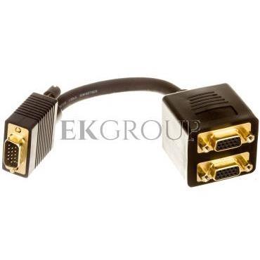 Adapter VGA D-Sub15 (M) - 2x VGA D-Sub15 (F)-148166