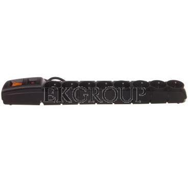 Przedłużacz przeciwprzepięciowy 8-gniazd z/u ACAR S8 FA RACK 19'' 3m czarny-148771