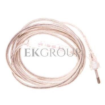 Przewód przyłączeniowy 0,25m z wyłącznikiem bezbarwny SP/W-250/2X0,75/WOR-BZB YNS10000562-149411