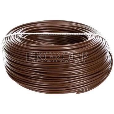 Przewód instalacyjny H07V-K (LgY) 1,5 brązowy /100m/-146951