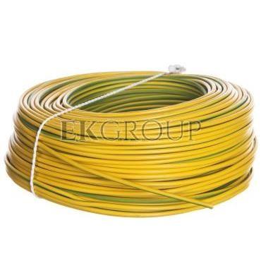 Przewód instalacyjny H07V-K (LgY) 2,5 żółto-zielony /100m/-146954