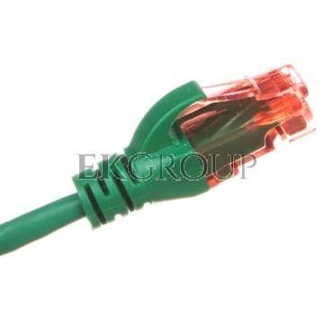 Kabel krosowy (Patch Cord) U/UTP kat.6 zielony 0,5m DK-1612-005/G-150365