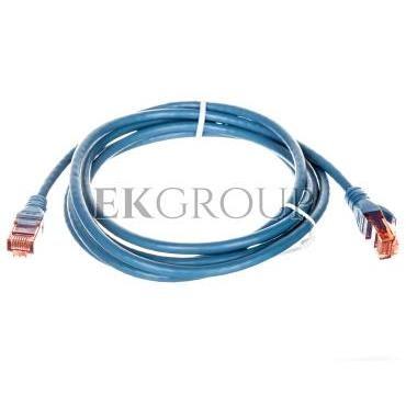 Kabel krosowy (Patch Cord) U/UTP kat.6 niebeski 2m DK-1612-020/B-150373