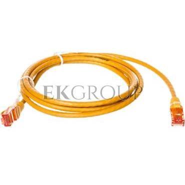 Kabel krosowy (Patch Cord) U/UTP kat.6 żółty 2m DK-1612-020/Y-150378