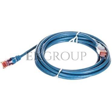 Kabel krosowy (Patch Cord) U/UTP kat.6 niebeski 3m DK-1612-030/B-150379
