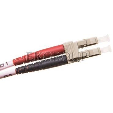 Patch cord światłowodowy LC/LC duplex MM 50/125 OM2 1m LS0H pomarańczowy DK-2533-01-150402