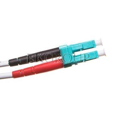 Patch cord światłowodowy LC/LC duplex MM 50/125 OM3 1m LS0H pomarańczowy DK-2533-01/3-150405