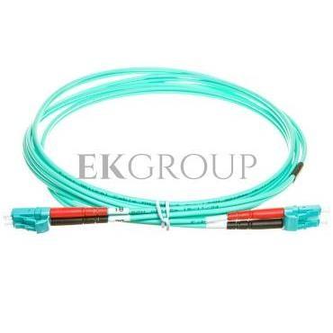 Patch cord światłowodowy LC/LC duplex MM 50/125 OM3 2m LS0H pomarańczowy DK-2533-02/3-150406