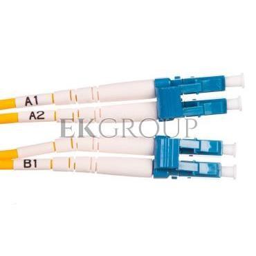Patch cord światłowodowy LC/LC duplex SM 9/125 OS2 2m LS0H żółty DK-2933-02-150398