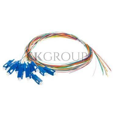 Pigtail światłowodowy SC simplex SM 9/125 OS2 2m DK-29221-02 /12szt./-150399