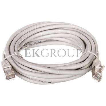 Kabel krosowy patchcord SF/UTP kat.5e CCA szary 5m 50147-150433