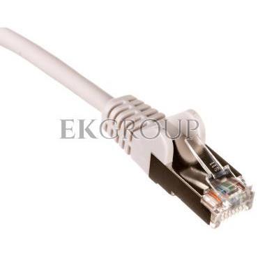 Kabel krosowy patchcord U/UTP kat.5e CCA szary 5m 68377-150455