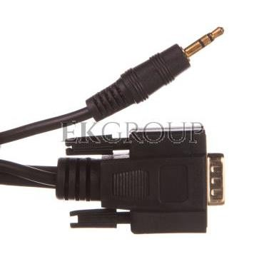 Kabel monitorowy VGA D-Sub(15-pin) Full HD SVGA   Jack 3,5mm 3m 93969-148387