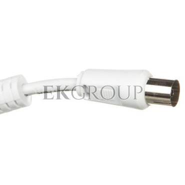 Przewód antenowy IEC 10m biały 50722-148409