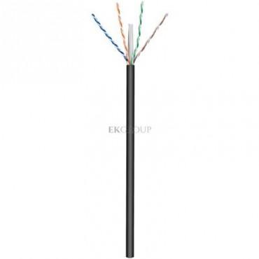 Kabel teleinformatyczny zewnętrzny U/UTP kat.6 4x2xAWG24 /100m/-150579
