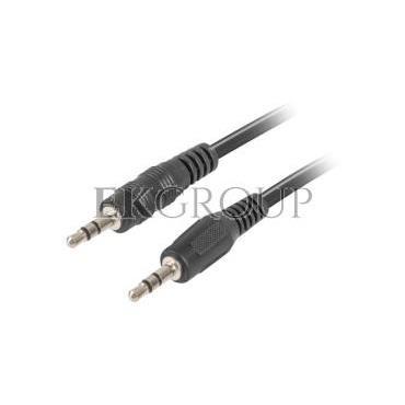 Kabel stereo minijack (M) - minijack (M) 1,2m CA-MJMJ-10CC-0012-BK-148571