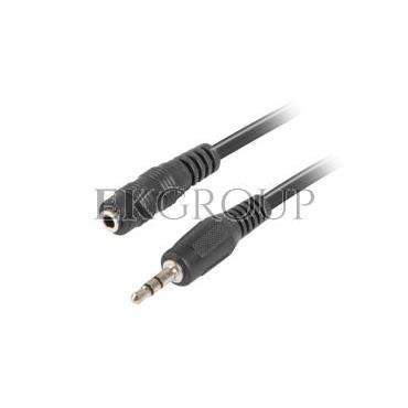 Przedłużacz Jack 3,5mm /3-pin stereo/ 1,5m CA-MJFJ-10CC-0015-BK-148580