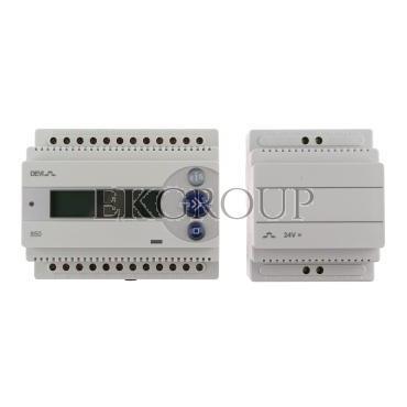 Termostat DEVIreg 850 III 24V 16A -10-40°C IP20 biały 140F1085-147537