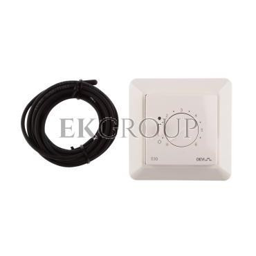 Termostat DEVIreg 530 230V 15A -10-50°C IP31 biały 140F1030-147546