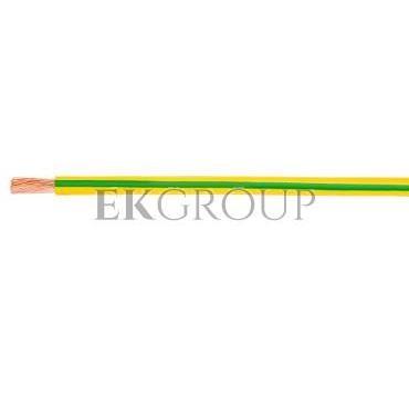 Przewód instalacyjny H05V-K (LgY) 1,5 żółto-zielony /100m/-145602