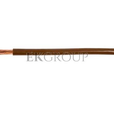 Przewód instalacyjny H05V-K (LgY) 0,5 brązowy /100m/-145644