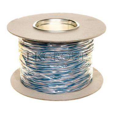 Przewód montażowy TDY 2x0,5 biało-niebieski /500m/-150142