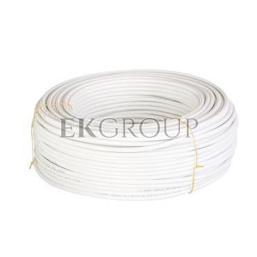 Przewód koncentryczny YWDXpek 75-1,05/4,8 Al biały /100m/-150166