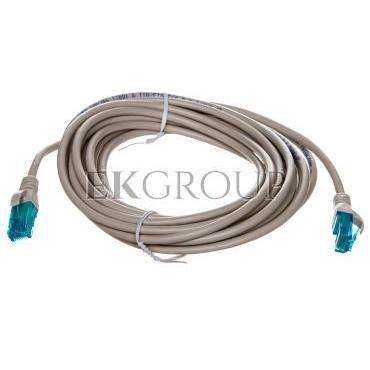 Kabel krosowy (Patch Cord) U/UTP kat.5e szary 5m DK-1512-050-150176