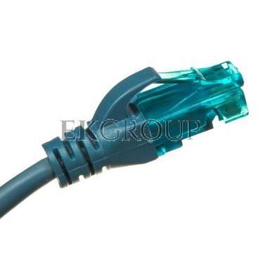 Kabel krosowy (Patch Cord) U/UTP kat.5e niebieski 2m DK-1512-020/B-150182