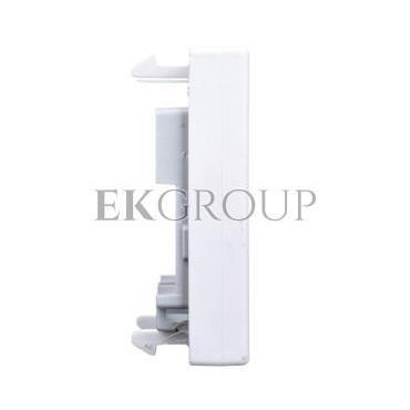 Simon Connect Płytka K45 gniazda teleinformatycznego pojedynczego RJ płaska czysta biel K076/9-152295