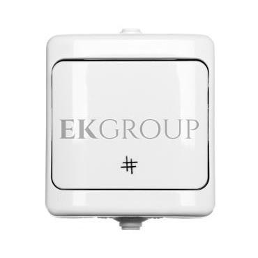 BRYZA Łącznik hermetyczny krzyżowy IP54 biały 180407-160503