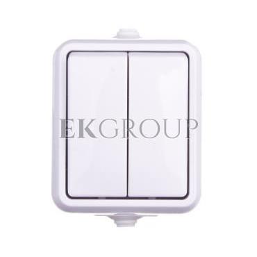 HYDRO Łącznik hermetyczny świecznikowy IP44 biały 120405-160329