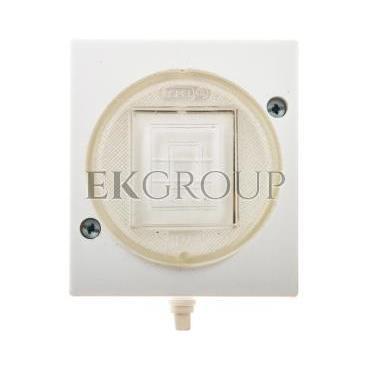 LAMBDA Łącznik hermetyczny krzyżowy IP44 biały ŁNH-4L/00-160489