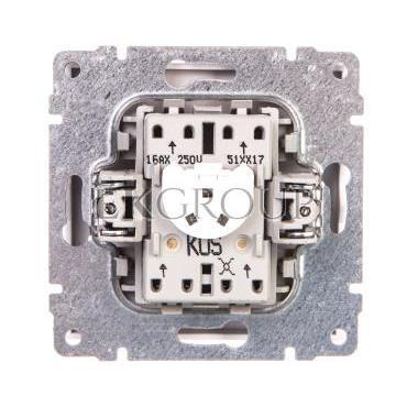 KOS66 Łącznik krzyżowy podświetlany biały 620417-161194