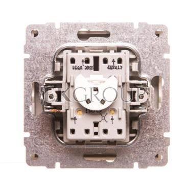 KOS66 Łącznik krzyżowy podświetlany aluminium 624017-161169