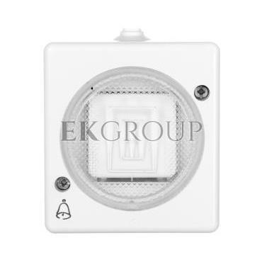 TROL Przycisk hermetyczny /dzwonek/ IP44 biały 100404-160424