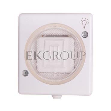TROL Przycisk hermetyczny /światło/ IP44 biały 100403-160428