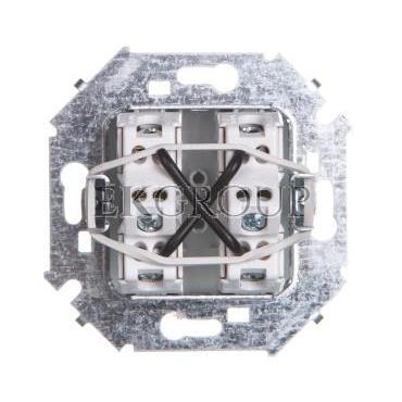 Simon 15 Łącznik krzyżowy aluminium metalizowane 1591251-026-161301