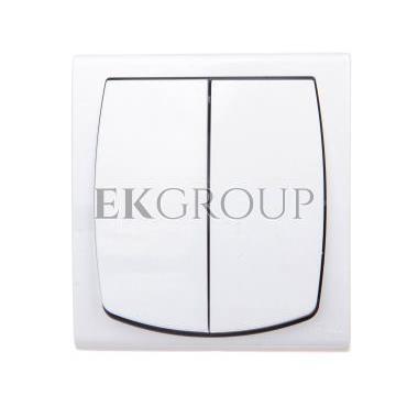 MADERA Łącznik hermetyczny świecznikowy IP44 biały ŁNH-2N/00-160382