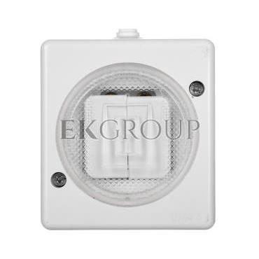 TROL Łącznik hermetyczny świecznikowy IP44 biały 140405-160453