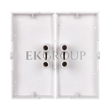 Simon 54 Klawisz do łączników/przycisków podwójnych biały DKW5/11-151313