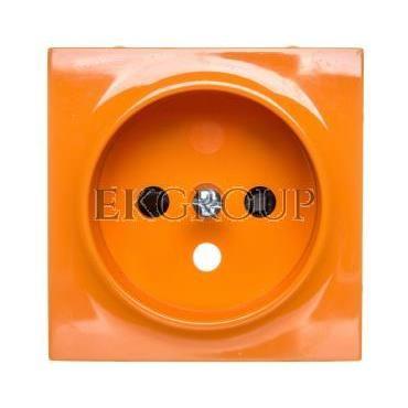 Simon 54 Pokrywa gniazda pojedynczego z przesłonami pomarańczowa DGZ1ZP/32-153162