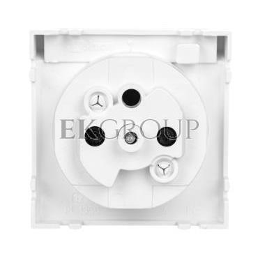 Simon 54 Pokrywa gniazda do wersji IP44 z przesłonami antybakteryjna biała DGZ1BUZP/AB11-153186