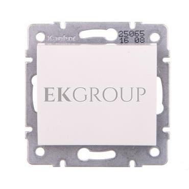LOGI Łącznik jednobiegunowy śrubowy 10AX 250V biały 021000102 25065-162696