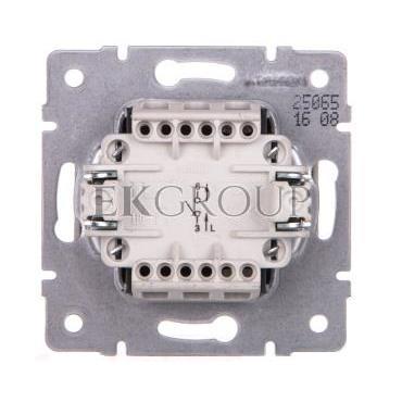 LOGI Łącznik jednobiegunowy śrubowy 10AX 250V biały 021000102 25065-162697