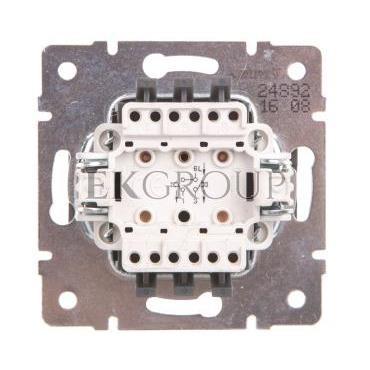 DOMO Łącznik zwierny podwójny szybkozłączka 10AX 250V grafit 011022241 24892-166074