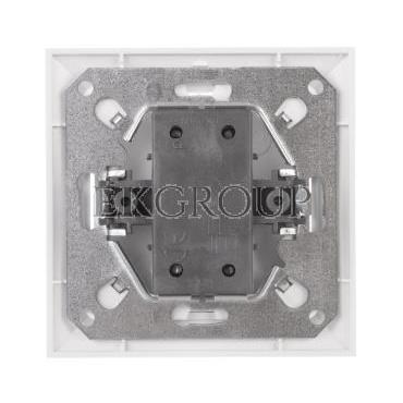 PREMIUM Łącznik podwójny z podświetleniem biały WP-3 Pr/S-166050