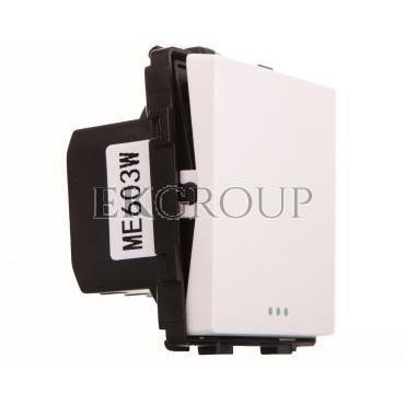 TouchMe Mechanizm łącznik pojedynczy krzyżowy biały ME603W-161414