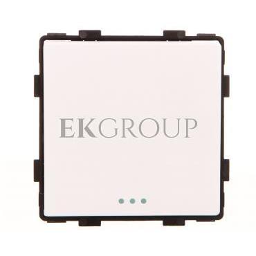 TouchMe Mechanizm łącznik pojedynczy krzyżowy biały ME603W-161415