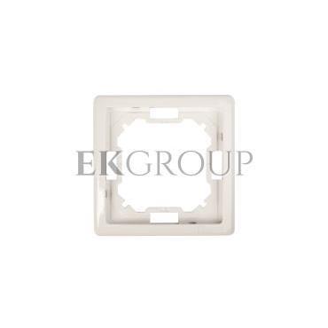 Simon Basic Standard Ramka pojedyncza uniwersalna biała BMR1/11-153931